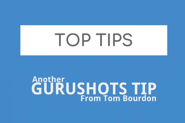 Gurushots – Top Tips